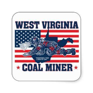 WEST VIRGINIA COAL MINER STICKERS