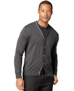 Van Heusen Sweater, Buttoned Cardigan Sweater