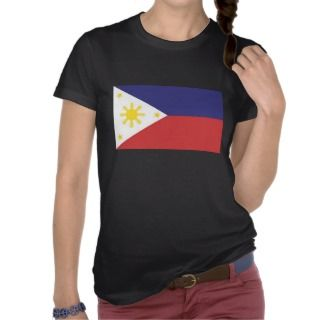 Phlippine Flag Womens Shirt