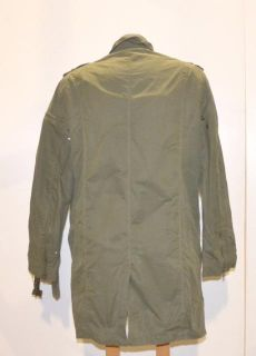Marc Anthony Size XLarge Green Military Style Jacket