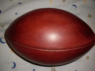 "Wilson Official NFL Leather Game Ball Football ""The Duke"" F1100 K"