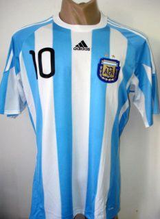Original 2010 Argentina Home Soccer Jersey MARADONA 10
