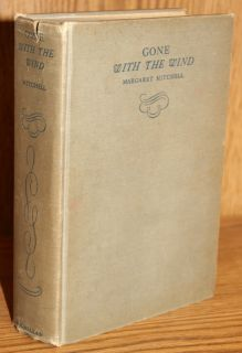 Margaret Mitchell Gone with The Wind 1st Ed June 1936 Only 5000 copies