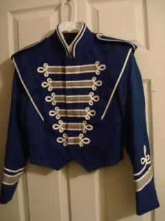 MARCHING BAND MILITARY STYLE SGT PEPPER BOLERO JACKET, MARDI GRAS