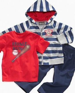 Nannette Baby Set, Baby Boy Shirt, Hoodie and Pants