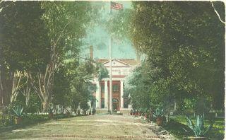 California Mare Island U s Naval Hospital U s Navy Yard 1910 Postcard
