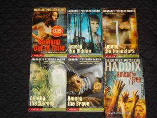 Lot 6 Margaret Peterson Haddix Books Shadow Children Series Running