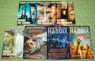 SET SHADOW CHILDREN #1 7~CHAPTER BOOK SERIES~MARGARET PETERSON HADDIX