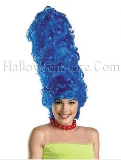 Marge Simpson Deluxe Adult Wig  Tall Blue Character Wig. A must have