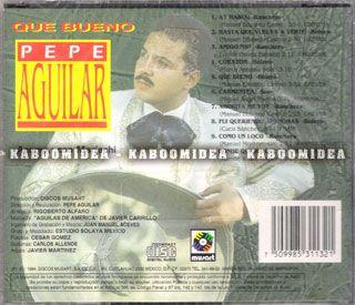 Pepe Aguilar Que Bueno Con Mariachi CD New SEALED