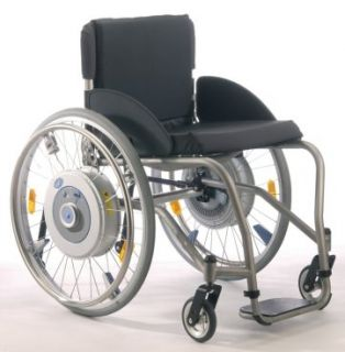 power assist wheel set + axles for TiLite & Quickie xtender wheelchair