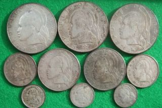 Liberia High Grade Silver Coin Lot Over 3 1 Troy oz Silver 9 Coins