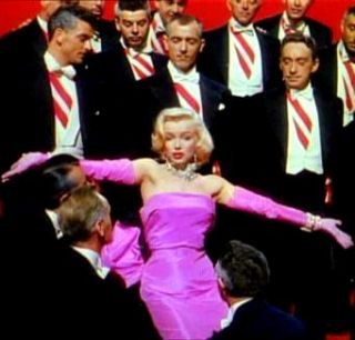 new marilyn monroe lady in pink costume size s m l xl please choose s