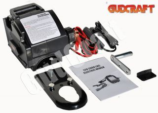 Brand New 12V 2000lb Electric Marine Boat Trailer Winch