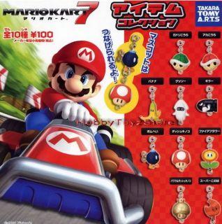 Takara Tomy A R T s Mario Kart 7 Item Collection Full Set of 10pcs