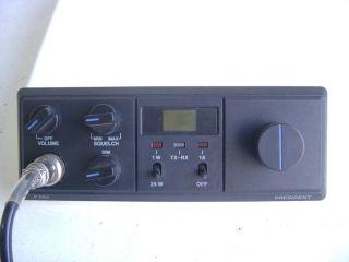 Uniden President P 580 Marine VHF CB Radio w Mic