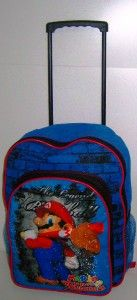 Super Mario Bros Trolley Travel Rucksack Backpack Bag