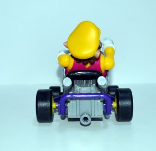Mario Kart 64 Toy Biz Wario Figure RARE Original Nintendo Figure w Red
