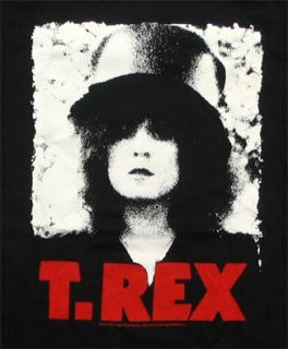Rex Marc Bolan Pixellated T Shirt Official Fast SHIP