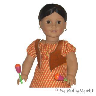 Maracas Fit American Girl Doll Josefina Marisol Sonali