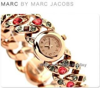 New Marc by Marc Jacobs Dexter Glitz Mini Katie Rose Gold Ladies Watch