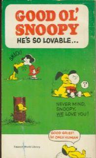 Good OL Snoopy Peanuts Charles Schulz 1958