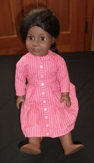 American Girl 18 Addy Walker Doll Mee Dress