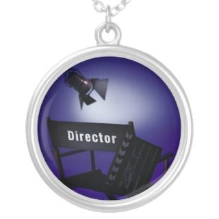 Directors Slate, Chair & Stage Light Necklaces