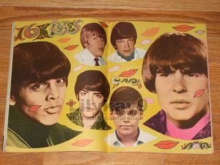 The Monkees Mark Lindsay Davy Jones Dark Shadows Jonathan Frid Jim