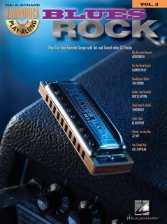 Blues Rock Harmonica Play Along Song Book CD Volume 3