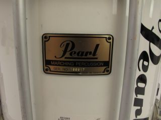 Pearl Championship Marching Snare Drum 14x12 White