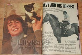 The Monkees Davy Jones Peter Tork Mike Nesmith Fave 67