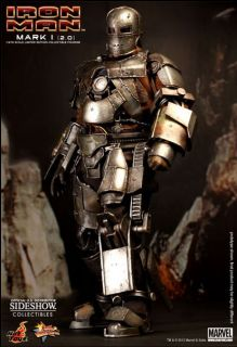 Hot Toys Iron Man Mark I (2.0) [Mark One, Mark 1, version II, version