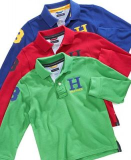 Tommy Hilfiger Kids Shirt, Little Boys Long Sleeve Phillip Polo