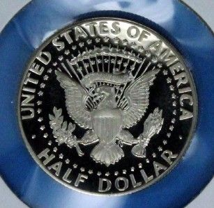 1981 s DCAM Proof Kennedy s Is Clear US Coin 50c Direct Proof Set