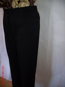 Womens Ladies Black Work Trousers by Marks Spencer Autograph Size 8 to