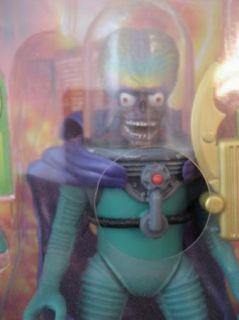 Megga Cool Mars Attacks Toy Talking Martian Leader Green Purple Brain