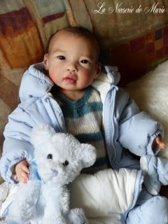 Asian Baby Boy Doll Prototype Kai Jannie de Lange LDC Soft Line