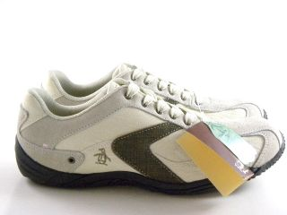 New Original Penguin Scott Ice White Brown Tan Casual Fashion Sneakers