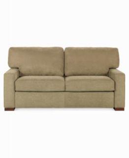 Alexis Fabric Sofa Bed, Queen Sleeper 77W x 41D x 37H