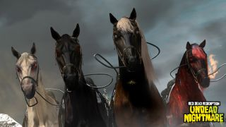 Mounts of the four horsemen of the apocalaypse available in Red Dead