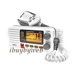 Uniden UM415 Fixed Mount VHF 2 Way Marine Radio White New
