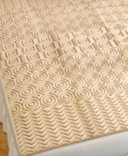 Martha Stewart Visco 5 Zone Queen Foam Mattress Pad