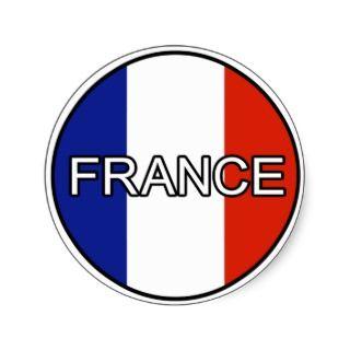 France Euro Sticker