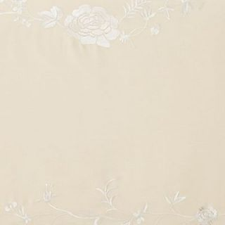 Martha Stewart Chinoiserie Trousseau Embroidered Queen Bedskirt