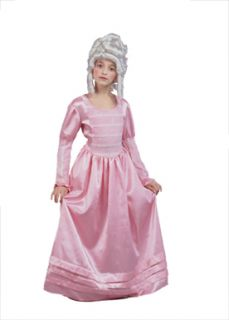 Martha Jefferson Historical Child Halloween Costume