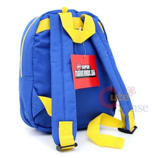Super Mario Wii Toddler School Backpack Bag 10in Coin