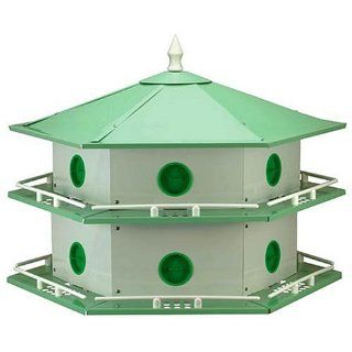 Heath AH 12D Deluxe Purple Martin House Pole Package