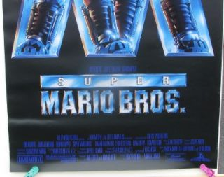 Super Mario Brothers Original 1sh Movie Poster