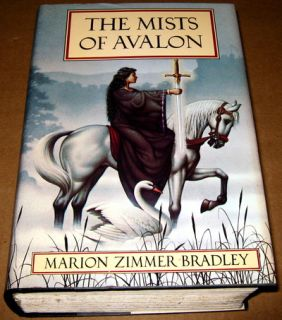 Marion Zimmer Bradley Mists of Avalon Book 1 Hardcover RARE Out of